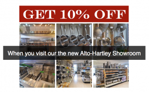 Alto Hartley Discount for Commercial Foodservice Operators