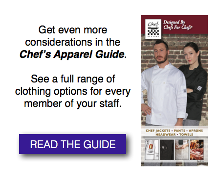 Chef Revival Chefs Apparel Guide CTA