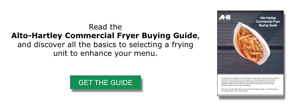 Commercial Fryer Buying Guide CTA