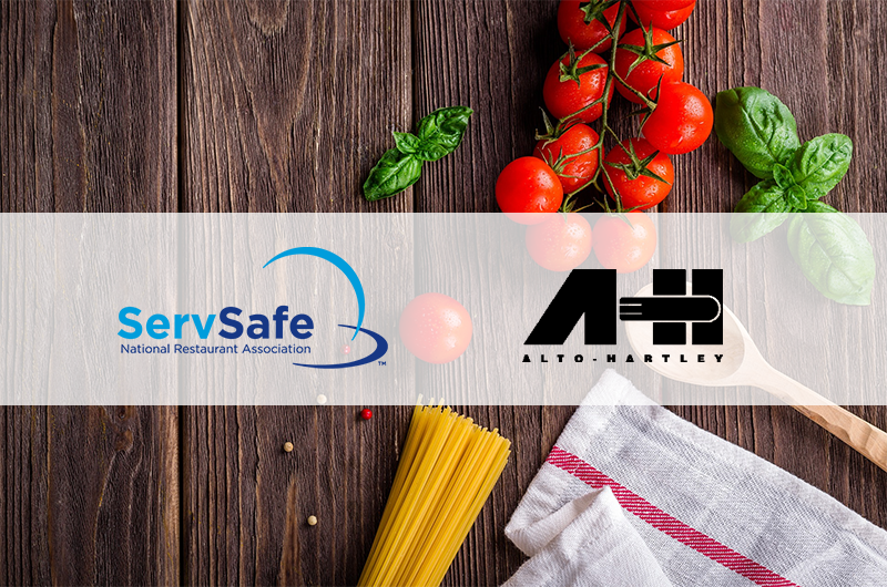 Get Servsafe Certified At Alto Hartley