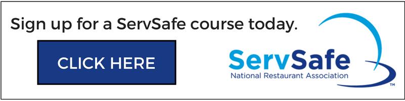 Sign up for ServSafe course at Alto-Hartley