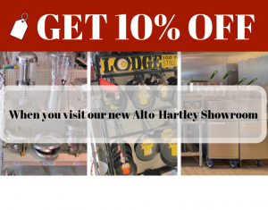 Alto-Hartley Showroom Discount