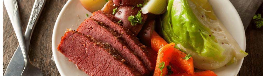 history of corned beef